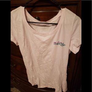   Ladies Pink Salt Life T- Shirt   Size XL  